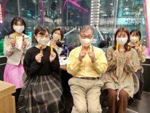 福岡のアナウンススクールKASはラジオ実習11年目